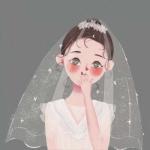 新娘动漫头像,高清唯美的新娘婚纱头像图片