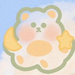 微信头像可爱小熊,高清超萌的卡通可爱小熊头像简笔画图片