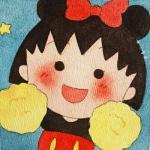 可爱头像樱桃小丸子,高清可爱萌萌的樱桃小丸子头像图片