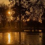 风景图片黄昏唯美头像