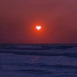 微信头像黄昏日落,高清好看的唯美黄昏日落头像图片