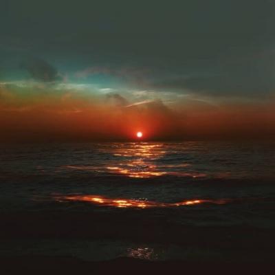 微信头像黄昏日落