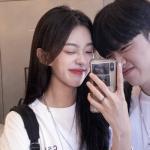高清韩系情侣头像一对,精选情侣头像一对两张韩系甜蜜图片