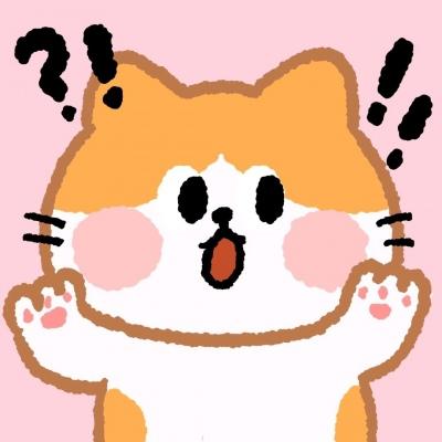 可爱卡通动物头像萌萌哒