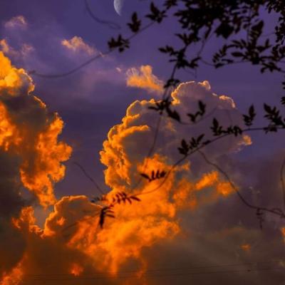 微信头像唯美小清新天空图片