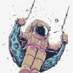 太空人微信头像,最近很火的宇航员图片头像