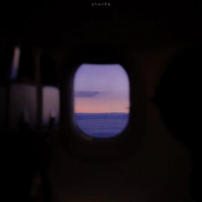 蓝色天空风景头像