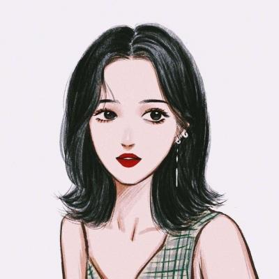时尚卡通微信头像女