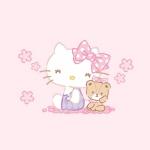 凯蒂猫图片头像大全 少女心满满的粉色系凯蒂猫头像