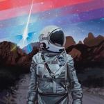宇航员潮流个性头像 高清好看的太空人头像潮图 宇航员