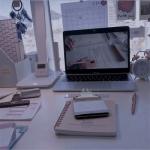 工作学习课桌头像图片