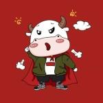 牛的动漫图片可爱头像 牛年大吉