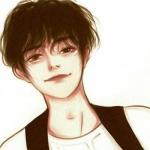男生头像简单干净动漫手绘图片 阳光帅气