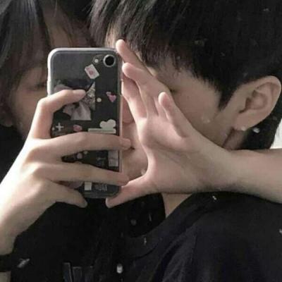 高清情头真人双人甜蜜两张图片