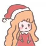 新款圣诞节头像情侣卡通可爱图片