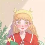 圣诞节闺蜜头像两人 高清圣诞节闺蜜头像可爱动漫图片