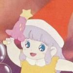 圣诞节戴圣诞帽的动漫小女孩头像图片