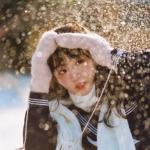 冬季女生头像图片唯美 高清雪的头像女生头像清晰