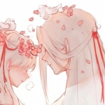 情头2021最新动漫 高清超甜的情头2021新款接吻动漫图片