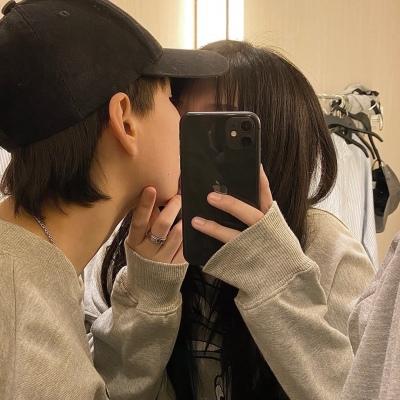 情侣头像真人好看超甜