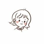 可爱萌萌哒简笔头像 高清可爱的卡通简笔头像图片