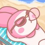 三丽鸥美乐蒂头像 超萌高清粉色系的美乐蒂可爱头像图片