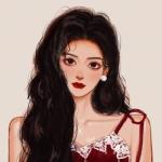 手绘女生头像气质高冷 高清知性大气的头像高冷女动漫手绘图片