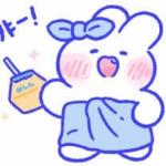 兔兔手绘可爱头像 高清软萌的超可爱兔兔头像手绘图片