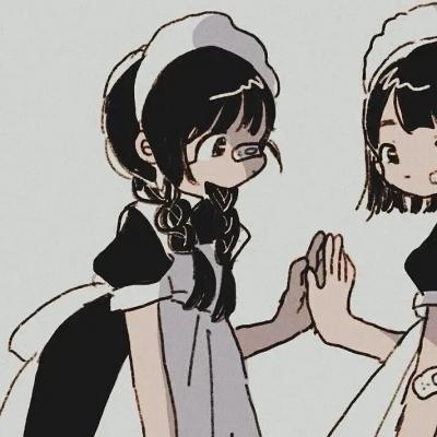 微信闺蜜头像图片两人动漫高清