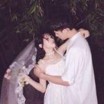 唯美婚纱情侣真人头像一对两张高清图片
