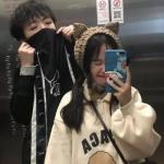 韩范双人浪漫情侣头像 真的超级甜的