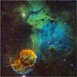微信头像星空闪耀 颜色灿烂的星空闪耀图片头像