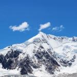 高清自然风光秀丽雪山景色图片