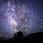高清夜晚星空风景唯美图片