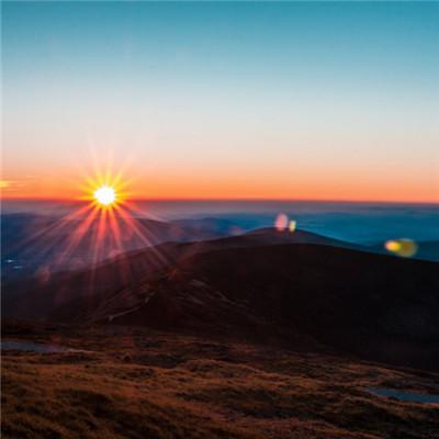 微信头像风景日出