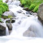 微信头像瀑布流水 高清瀑布溪流美景风景头像图片大全