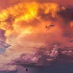 微信火烧云头像 高清唯美的晚霞火烧云头像图片