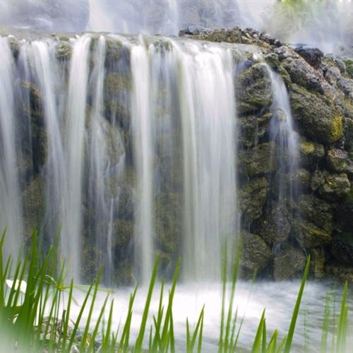 最美瀑布头像