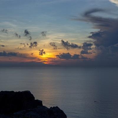 微信头像日出日落图片