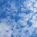 蓝天白云微信头像 高清治愈的蓝天白云自然风景头像图片