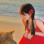 真人可爱青春少女头像 清新阳光女生照片头像
