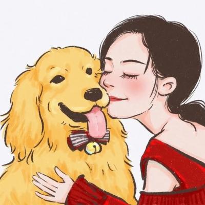 女生头像动漫带宠物