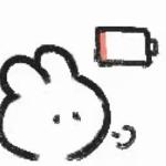 卡通可爱简笔画兔子表情包头像