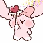 动漫头像―可爱的粉红色