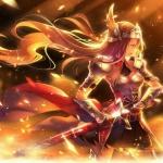 超燃女性游戏人物头像图片 燃回热血