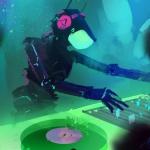 超酷DJ打碟头像图片