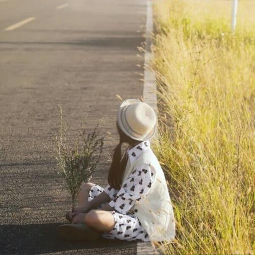 表达放松心情的悠闲头像图片