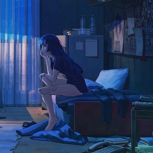 表达伤感伤心难过的头像图片
