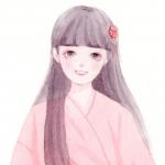 齐刘海长发动漫女生头像图片