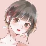 大眼樱桃小嘴动漫女生头像图片